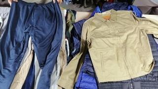 ПРИВОЗ! Мужские и женские куртки и, жилетки, пуховики. Хлопковые штаны, брюки, джинсы. Экимань Ново-Полоцк