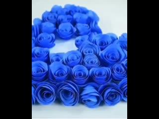 Делаем цветочки для  подарка или поделки. Легко и просто.