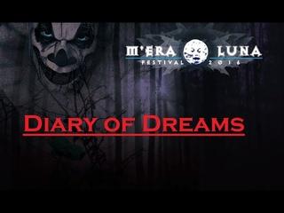 Diary of Dreams   Live at M`era Luna 14 08 2016