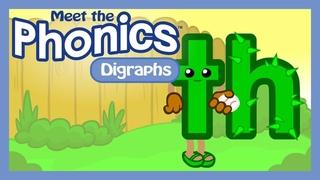 Meet the Phonics Digraphs - th