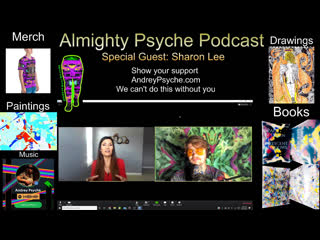 Almighty Psyche Podcast with Sharon Lee