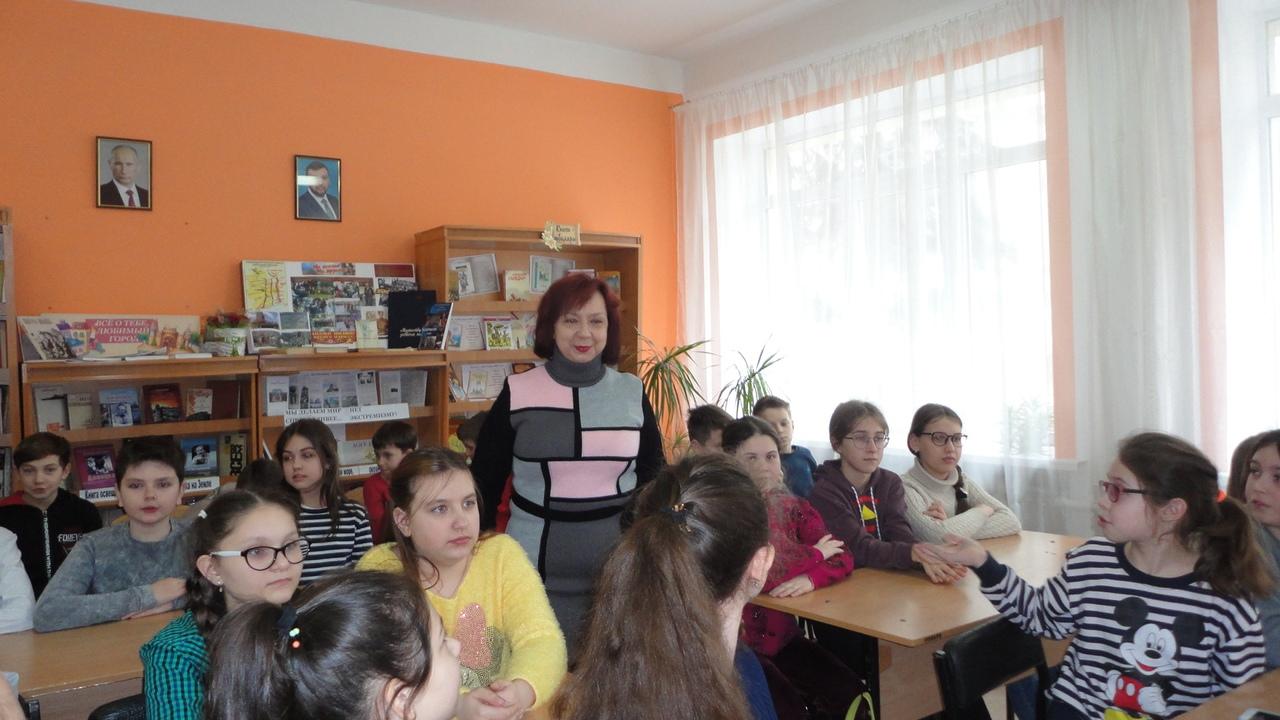 донецкая республиканская библиотека для детей, отдел обслуживания учащихся 5-9 классов, международный день кошек, занятия с детьми