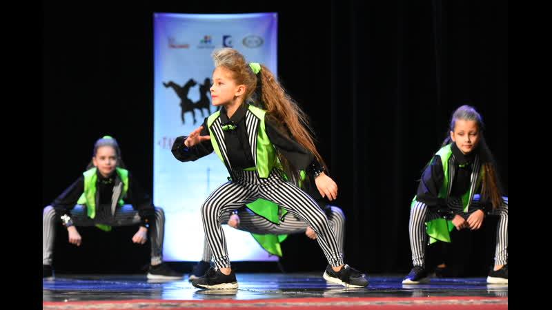 Центр танца Valery Конкурс Юный танцор группа скитлс