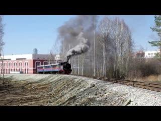 Подборка паровозного движения из видео материалов фонда Музея УЖД и подписчиков группы