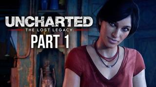 Uncharted: The Lost Legacy Ламповый стрим часть первая подруги Нейтана