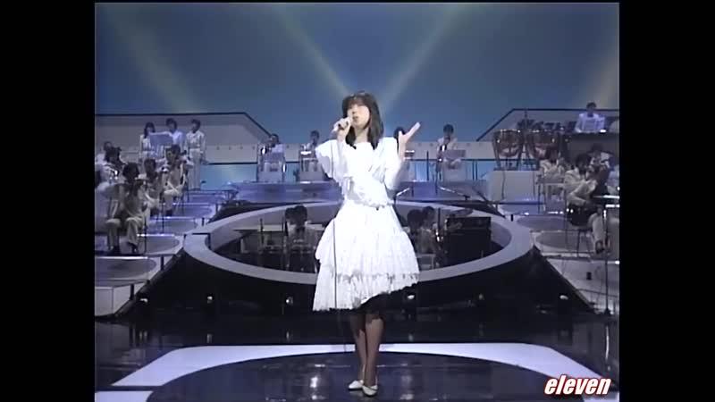 Акина Накамори 中森 明菜 セカンド・ラブ 生歌唱 Вторая песня о любви