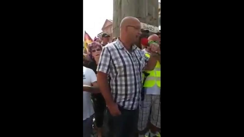 Spontandemo Offenburg vom 18 08 2018