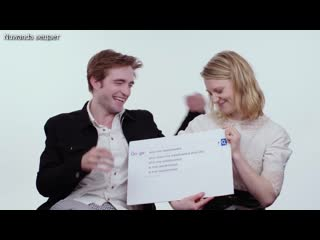 Robert Pattinson  Mia Wasikowska Answer the Webs Most Searched Questions   WIRED