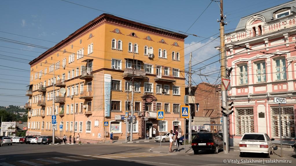 Дома в центре Саратова, путешествие 2020