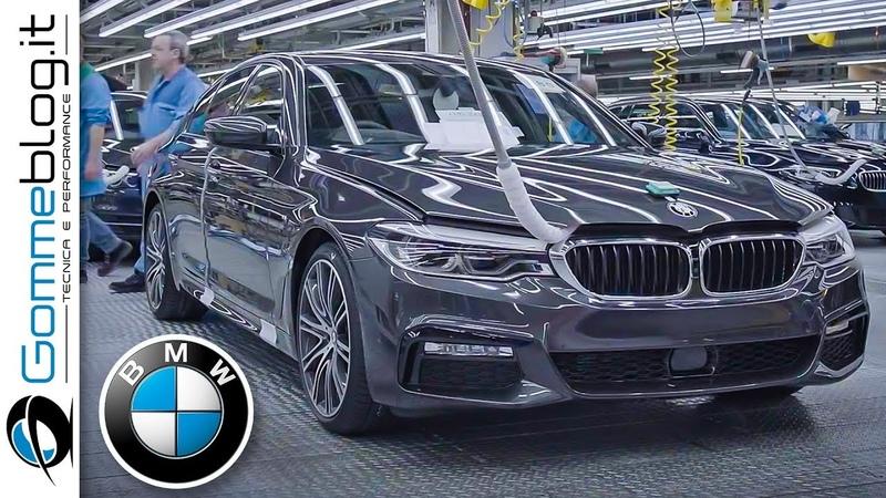 2020 BMW 5 Series PRODUCTION German Car Factory