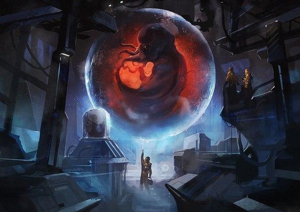 sci fi art - HD1286×909