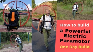 How to Build a Powerful Electric Paramotor in a day eppg