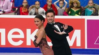 Елизавета Худайбердиева - Егор Базин. Ритм-танец. Танцы на льду. Чемпионат России  2021