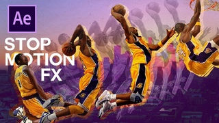 After Effects Stop Motion Tutorial - Kobe Bryant Tribute