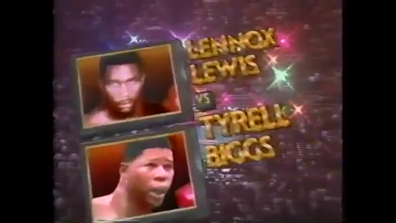 Lennox Lewis vs Tyrell Biggs HBO World Championship Boxing November 23 1991
