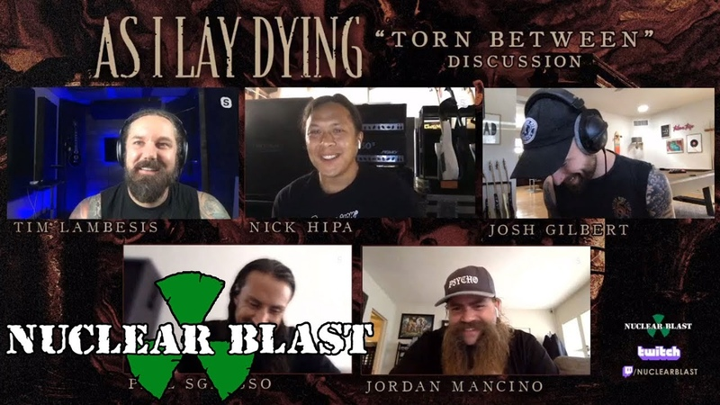 AS I LAY DYING Twitch Fan Q A Rebroadcast May 18th 2020 OFFICIAL VIDEO