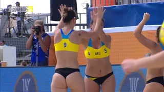 Women's Beach Handball 2018 Highlights