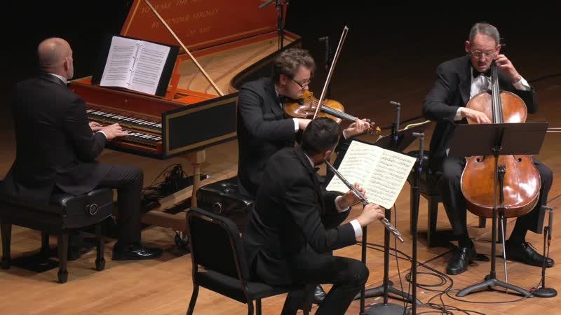 1079 J S Bach Sonata sopr il soggetto Reale a traversa violino e continuo Musikalisches Opfer BWV 1079 CMS