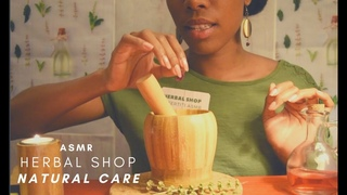 ASMR Fr 🌿 HERBAL SHOP ROLEPLAY🌿NATURAL CARE MEDICINE🌿Naturopath Visit Part 2
