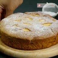 id_45485 Осенний яблочный пирог 🍎❣  Автор: Appetitno TV  #gif@bon