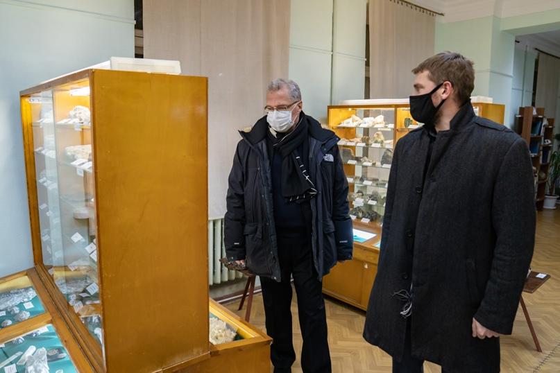 Президент Национальной галереи Коми Пьер Броше посетил Ухту, изображение №3