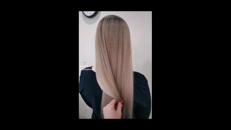 AirTouch farmavita work haircolor haircoloristwork hair hairpink