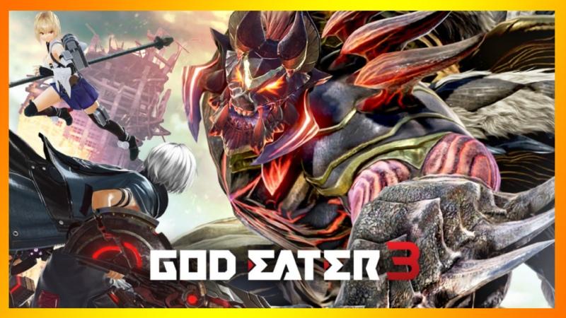 1 God Eater 3 Очень Прожорливые Боги ʕ ̀ ω ́ ʔ