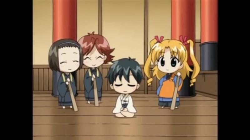 Happy Seven The TV Manga Chibi Chara Moshimo Gekijou 01 07 Raw