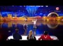 Минута Славы Украина, - Вова Слюсар и Юстина Толстолуцкая - Воздушный танец .