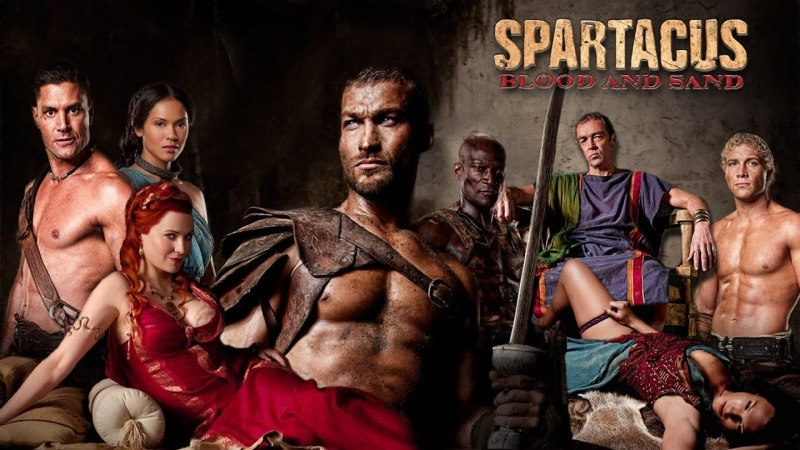 VHS Forever Спартак Spartacus Blood And Sand сериал 2010 2013 2 сезон