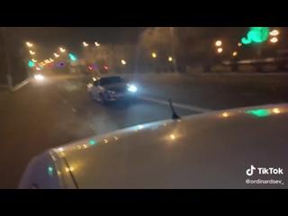 Два жителя Читы устроили гонку в центре города
