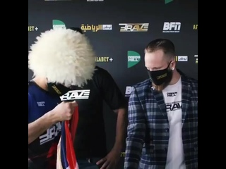 Мухаммад Мокаев vs Гленн Маквей, взвешивание.