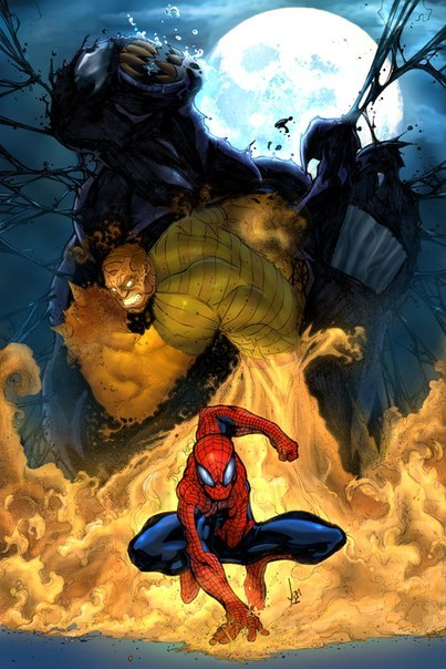 sandman spiderman name - 650×975