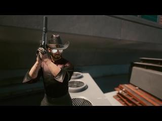 John Wick in Cyberpunk 2077