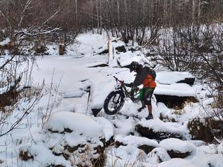 Зима за окном - не повод убирать велосипеды!
