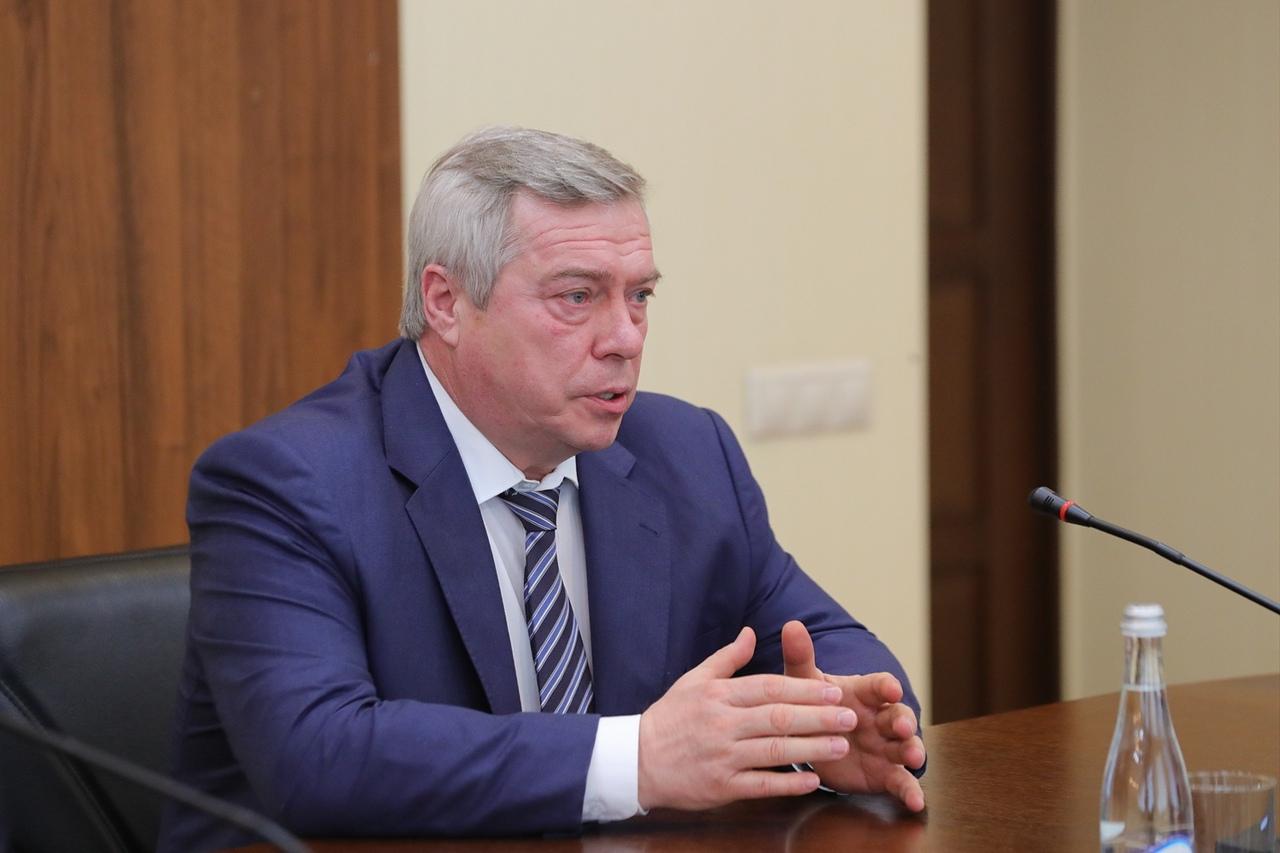Губернатор Василий Голубев встретился с новым прокурором Ростовской области Романом Прасковым