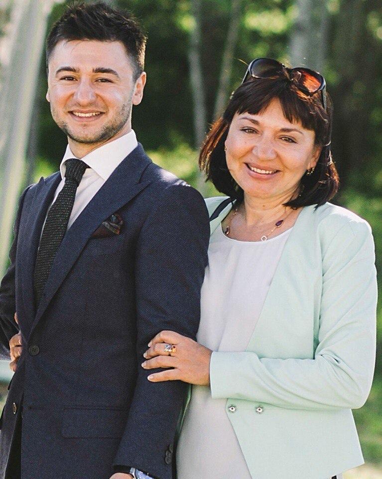 Иван Сорокин и его мама