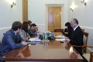 Встреча с Генеральным консулом Японии в Санкт-Петербурге