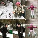 Мы рады первому снегу!!!