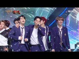 [VK][171231] MONSTA X Ending @ MBC Gayo Daejejeon - The FAN