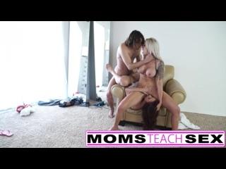 Горячая оргия втроем -  Milf Anal full hd porn секс порно xxx hardcore милфа оргия мамашки инцест