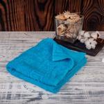 Махровое полотенце (бирюзовое)