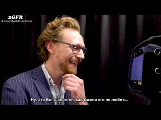 Rus(sub)Tom Hiddleston Surprises Fans Dressed As Loki Avengers Infinity War