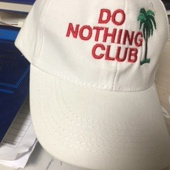 Кепка Do Nothing Club