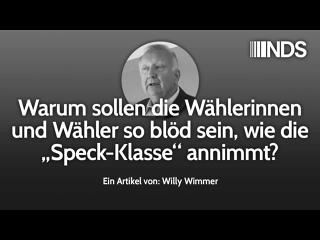 Willy Wimmer Warum sollen die Wählerinnen und Wähler...?