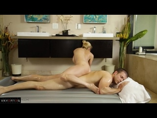 Alexis Fawx & Codey Steele [ Massage / Deep blowjob , Old with young , Riding dick , In oil , Cumshot on ass]