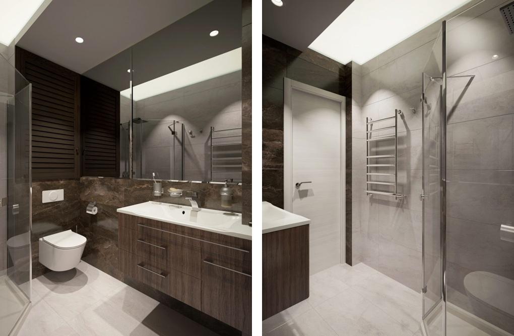 Дизайн-проект квартиры 24,5 м (с лоджией - 30 м).