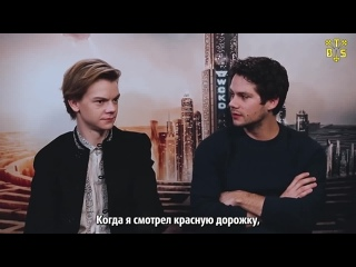 "[TBSubs] Интервью ""JinnyboyTV"" с кастом ""Maze Runner: The Death Cure"" (Томас, Ки Хон, Дилан) (рус.саб)"