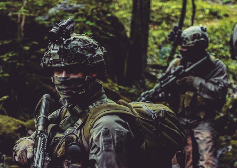 Тактика малых подразделений: Порядок действий бойца при встрече с противником и в критических ситуациях, изображение №1