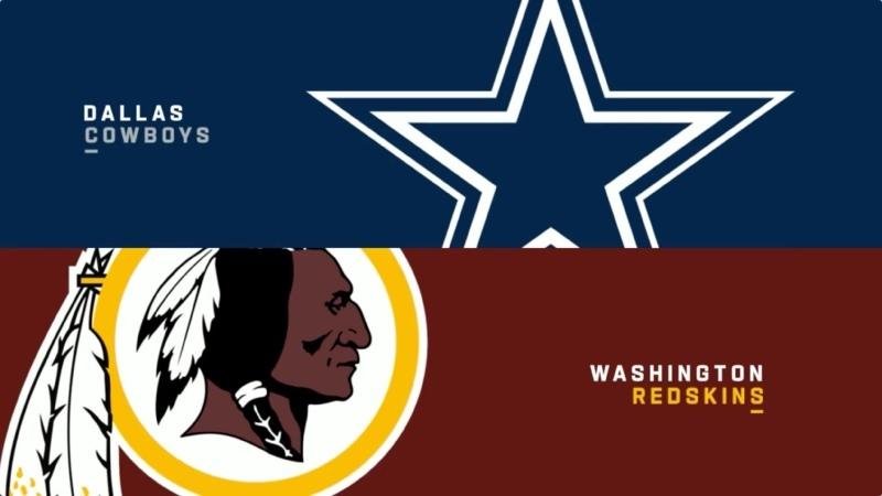 NFL 2012 2013 Week 17 Dallas Cowboys Washington Redskins RU НТВ